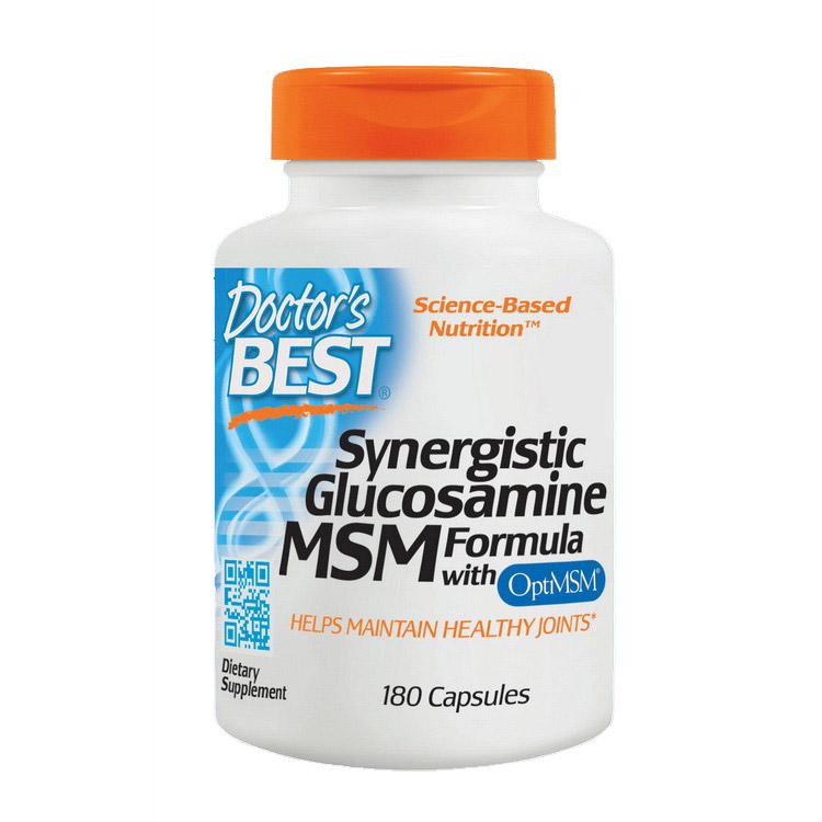 Synergistic Glucosamine MSM Formula (180 caps)
