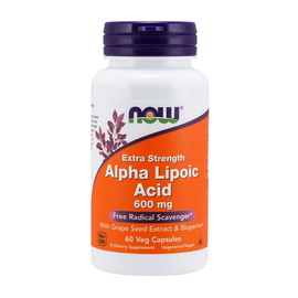 Extra Strength Alpha Lipoic Acid 600 mg (60 caps)