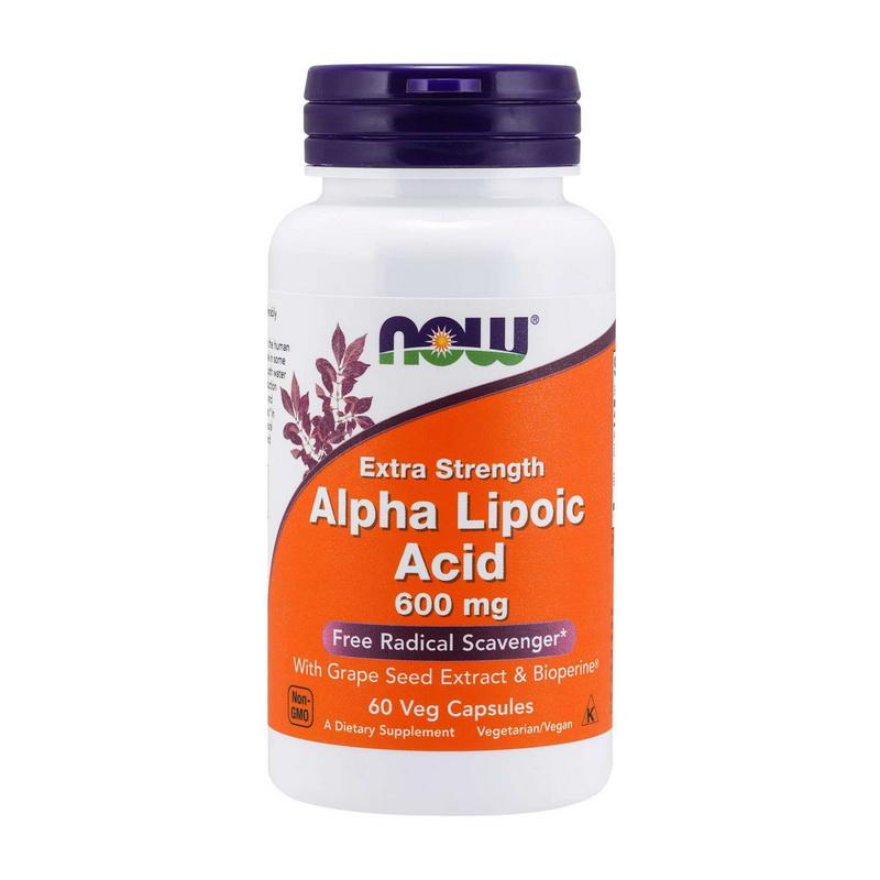 Extra Strength Alpha Lipoic Acid 600 mg (60 caps)