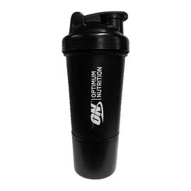 Premium Shaker 2 in 1 Black (500 ml)