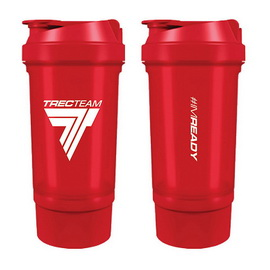Shaker #IMREADY 2 in 1 Red (500 ml)