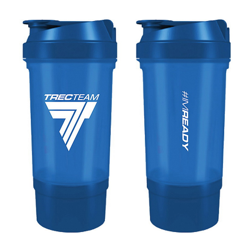 Shaker #IMREADY 2 in 1 Blue (500 ml)