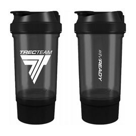 Shaker #IMREADY 2 in 1 Black (500 ml)