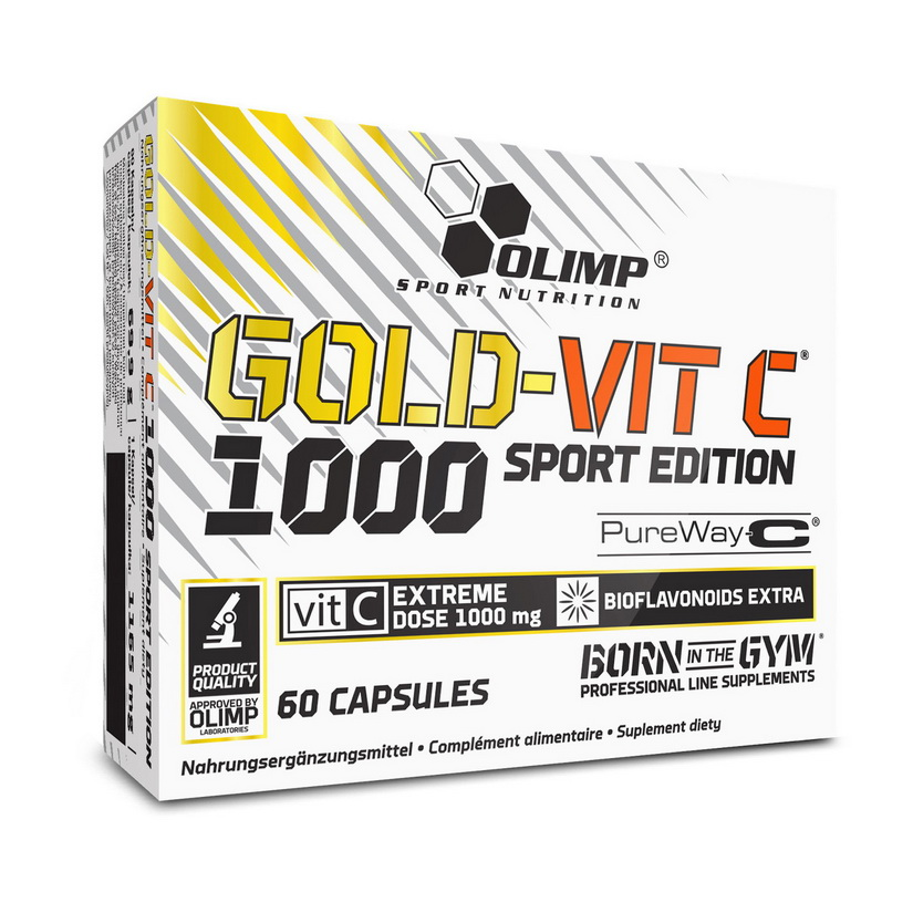 Gold-Vit C 1000 Sport Edition (60 caps)
