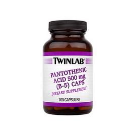 Pantothenic Acid (B-5) Caps 500 mg (100 caps)