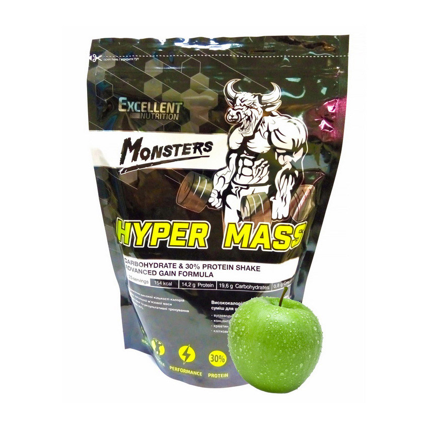 Monsters Hyper Mass (1 kg) | Monsters | Гейнеры