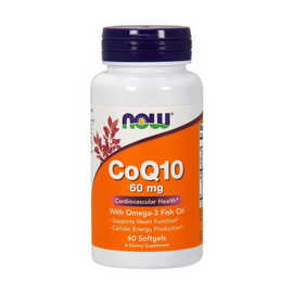 CoQ10 60 mg with Omega-3 (60 softgels)