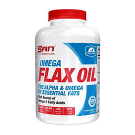 Omega Flax Oil (200 softgels)