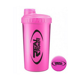 Shaker Real Pharm Pink (600 ml)