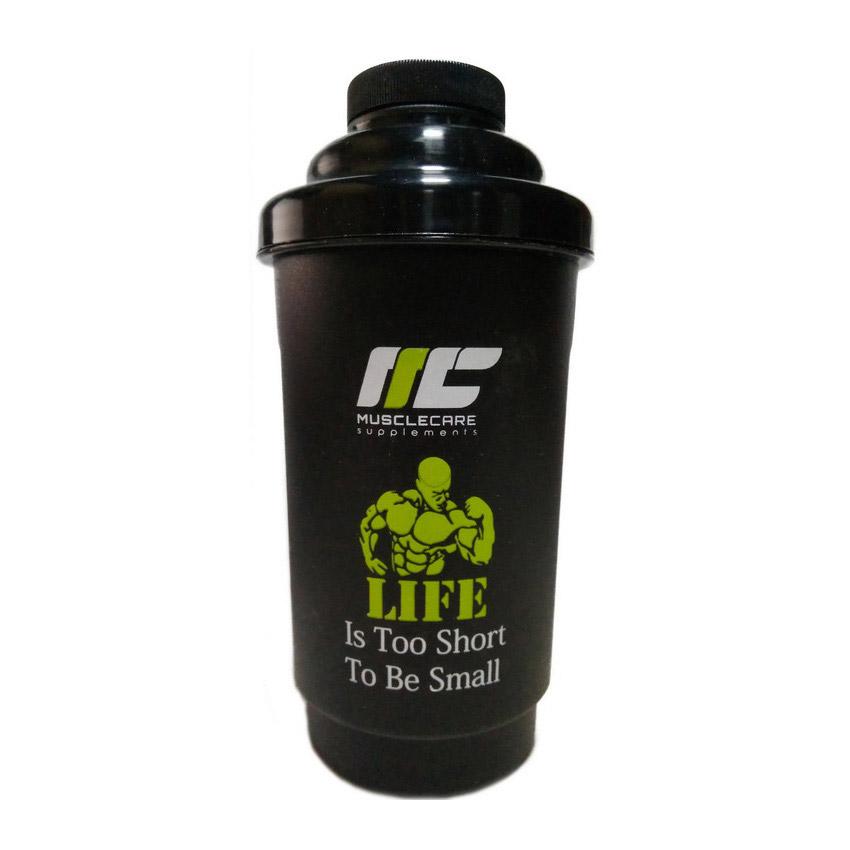 Shaker Muscle Care Black (600 ml)