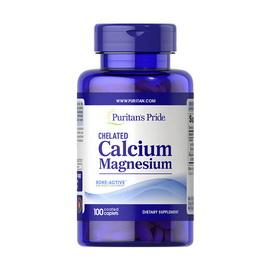 Chelated Calcium Magnesium (100 caplets)