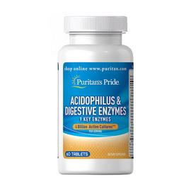 Acidophilus & Digestive Enzymes (60 tabs)