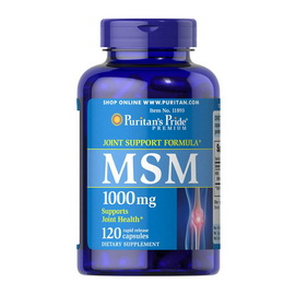 MSM 1000 mg (120 caps)