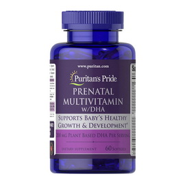 Prenatal Multivitamin with DHA (60 softgels)