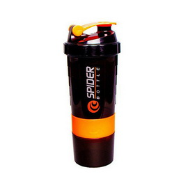 Spider Bottle Mini2Go Black Neon Orange (500 ml)