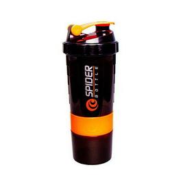 Spider Bottle Mini2Go Black Neon Orange (500 ml)