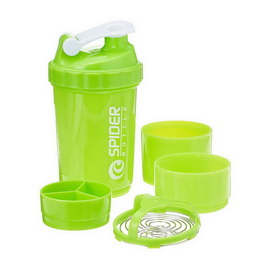 Spider Bottle Mini2Go Neon Light Green (500 ml)