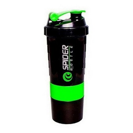 Spider Bottle Mini2Go Black Neon Green (500 ml)
