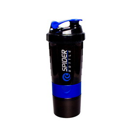 Spider Bottle Mini2Go Black Neon Blue (500 ml)