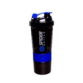 Spider Bottle Mini2Go Black Neon Blue (500 ml)