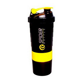 Spider Bottle Mini2Go Black Neon Yellow (500 ml)