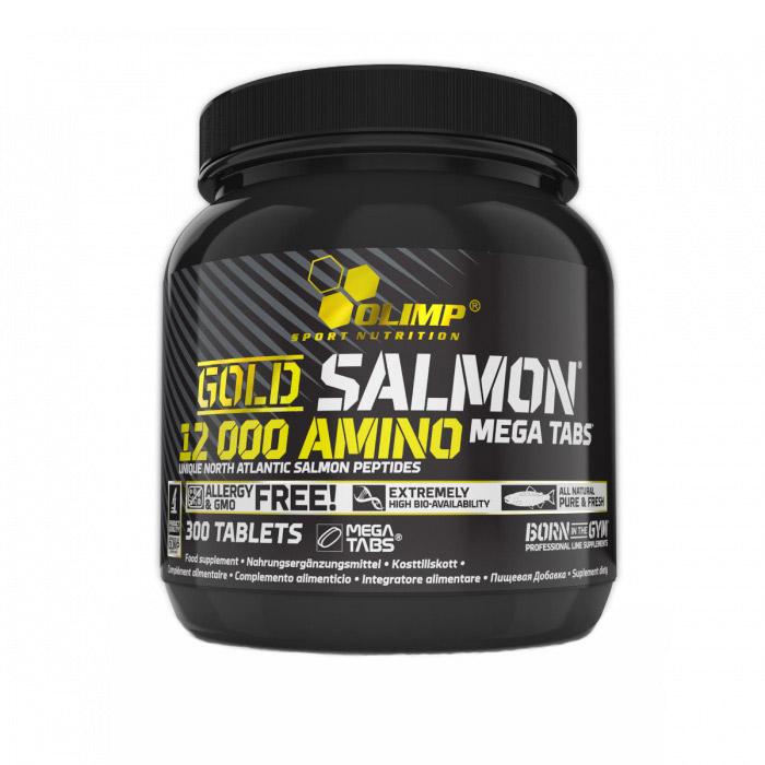 Gold Salmon 12000 Amino Mega Tabs (300 tabs)