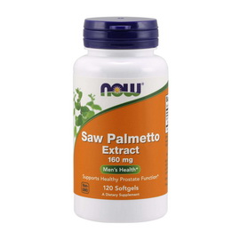 Saw Palmetto Extract 160 mg (120 softgels)