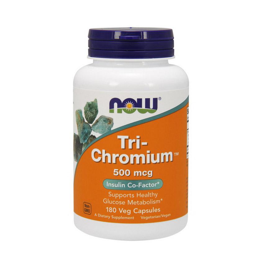 Tri-Chromium 500 mcg (180 veg caps)