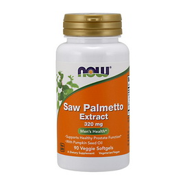 Saw Palmetto Extract 320 mg (90 veg softgels)