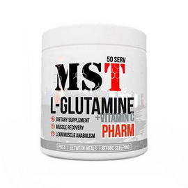 L-Glutamine Pharm + Vitamin C Unflavored (260 g)