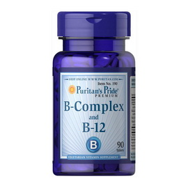 B-Complex and B-12 (90 tabs)