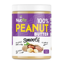100% Peanut Butter Smooth (1 kg)