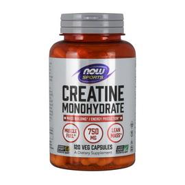 Creatine Monohydrate 750 mg (120 caps)