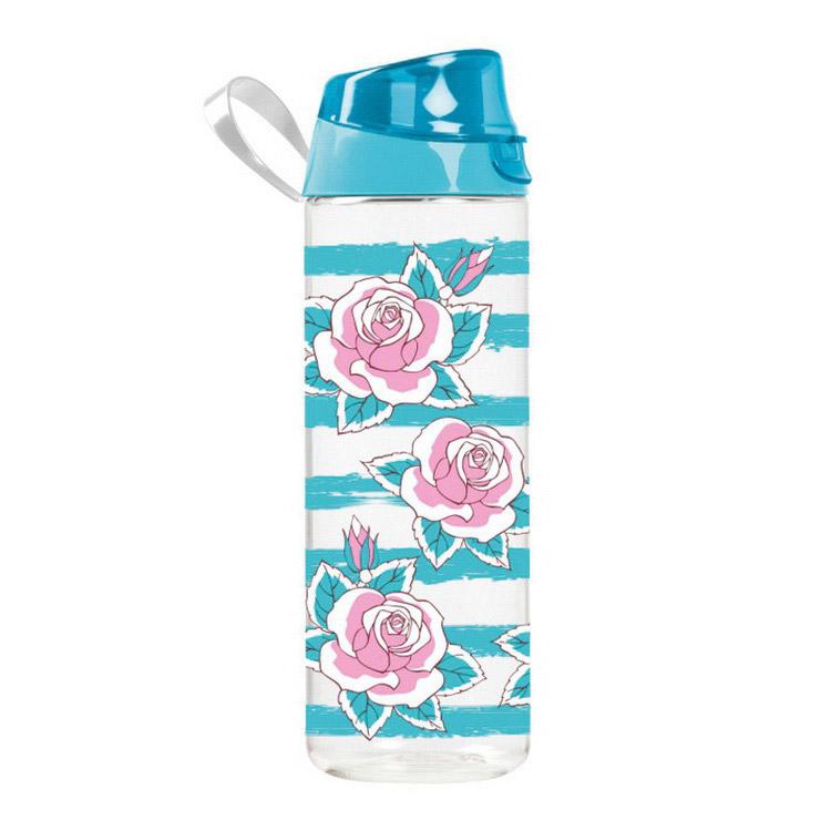 Waterbottle Blue Rose (750 ml)