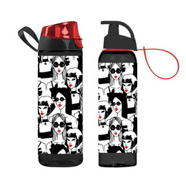 Waterbottle Ladies Red (750 ml)