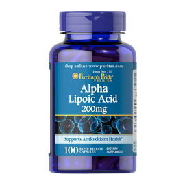 Alpha Lipoic Acid 200 mg (100 caps)