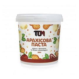 Арахисовое масло кранч с финиками и белым шоколадом (500 g)