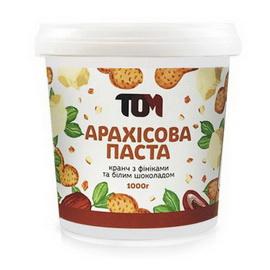 Арахисовое масло кранч с финиками и белым шоколадом (1 kg)