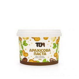 Арахисовое масло кранч с финиками и белым шоколадом (300 g)