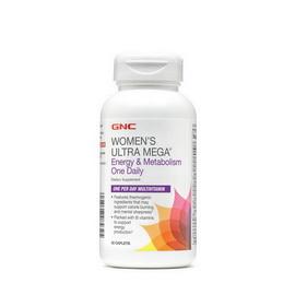 Women's Ultra Mega Energy & Metabolism One Daily (60 caplets)