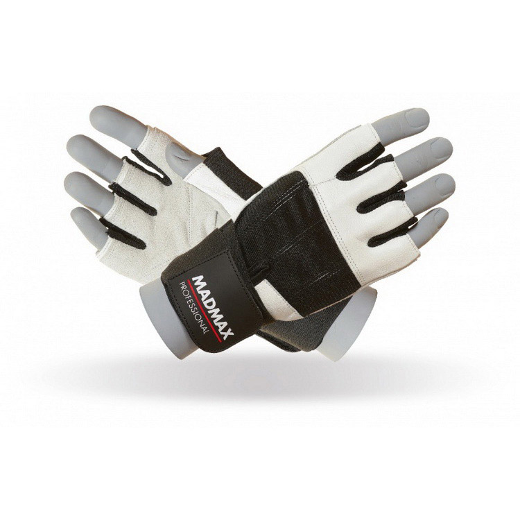Professional Gloves MFG-269 White/Black (S, M, L, XL, XXL)