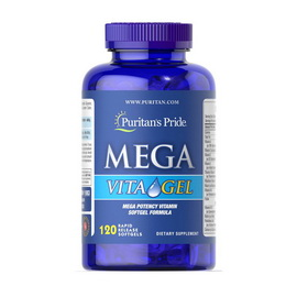Mega Vita Gel (120 softgels)
