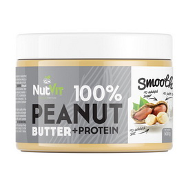 100% Peanut Butter + Protein Smooth (500 g)
