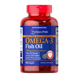 Omega-3 Fish Oil 950 mg One Per Day (90 softgels)