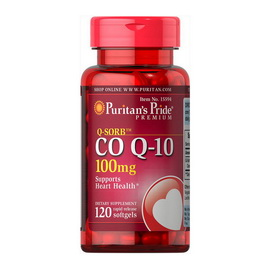 Q-SORB Co Q-10 100 mg (120 softgels)