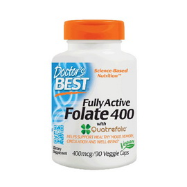 Fully Active Folate 400 (90 veg caps)