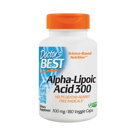 Alpha-Lipoic Acid 300 (180 veg caps)