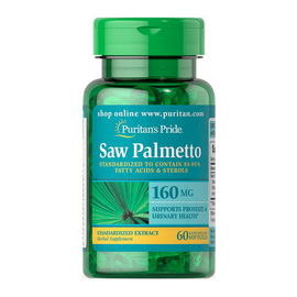 Saw Palmetto 160 mg (60 softgels)