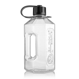 Water Jug Black/Clear (2 l)