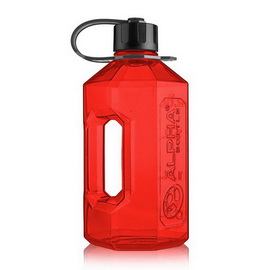 Water Jug Red/Black (2 l)